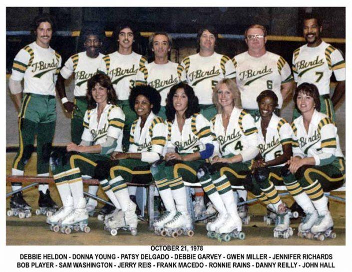 Thunderbirds Roller Derby 1978 Team Photo