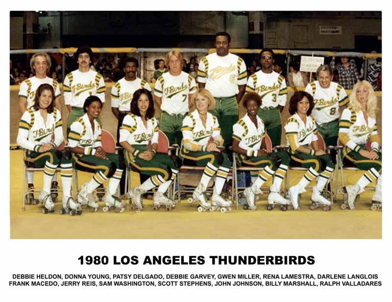 T-Birds - Los Angeles Thunderbirds 1980 Team Photo