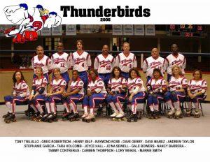 Thunderbirds Roller Derby 2006 Team Photo
