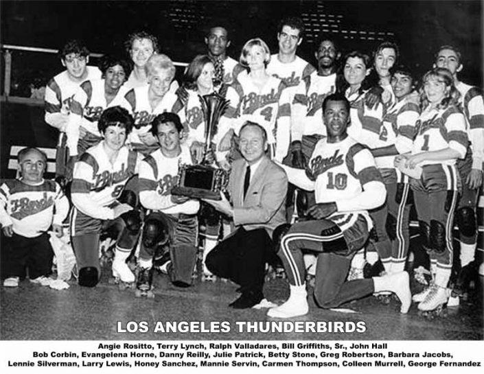 Thunderbirds Roller Derby 1969 Team Photo
