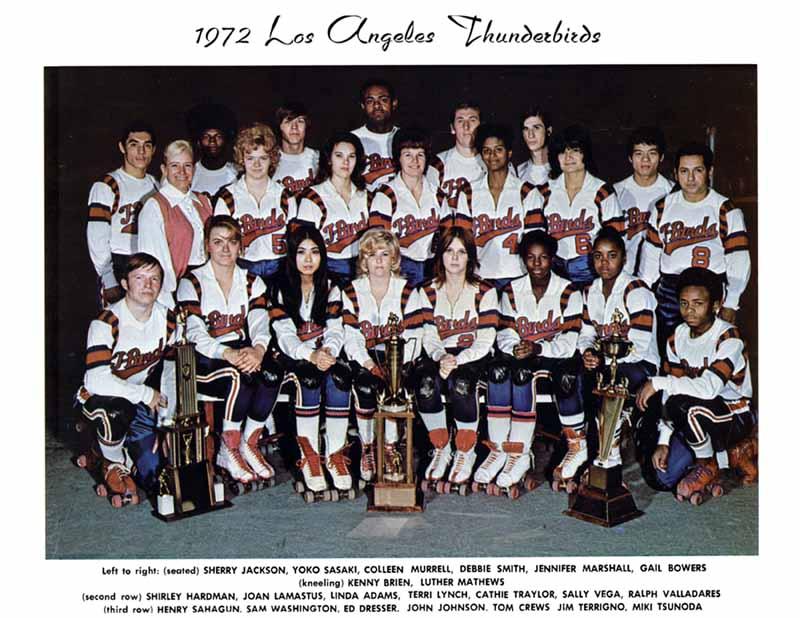 LA T-Birds - Los Angeles Thunderbirds Roller Derby