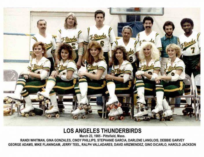 Thunderbirds Roller Derby 1985 Team Photo