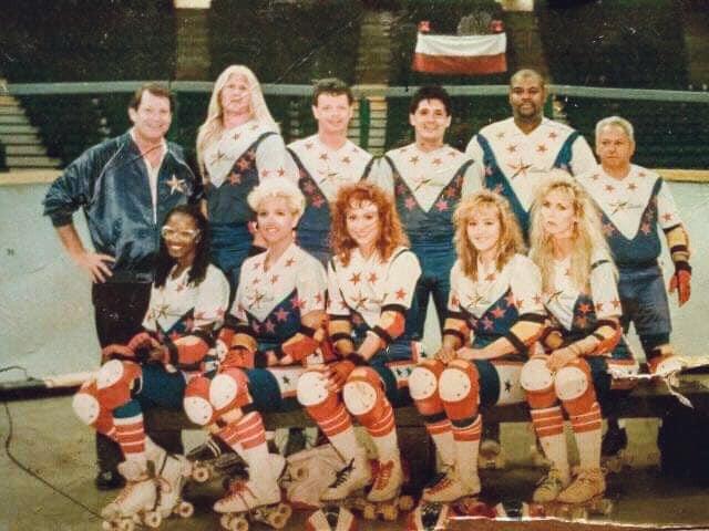 1993 Thunderbirds Roller Games Team